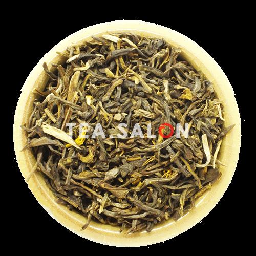 Зелёный чай с добавками «Ароматный жасмин»