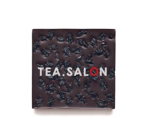 """Купить Шоколад на меду """"Горький с чёрным виноградом"""" в интернет-магазине Tea.salon"""