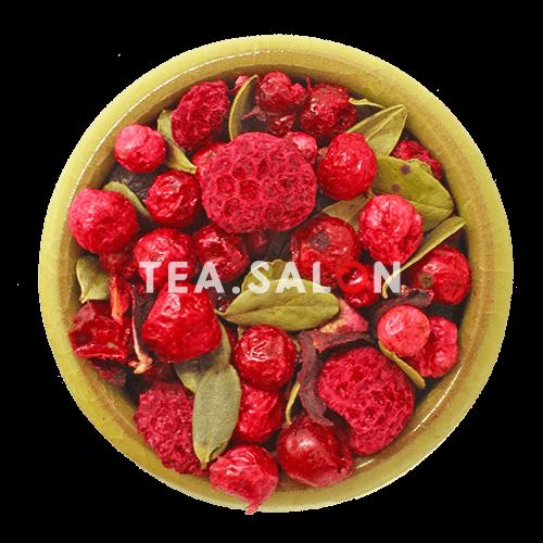 Фруктовый чай «Красные ягоды»