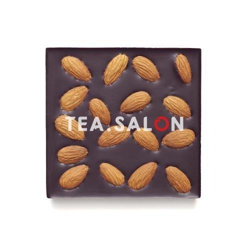 """Купить Шоколад на меду """"Горький со сладким миндалём"""" в интернет-магазине Tea.salon"""