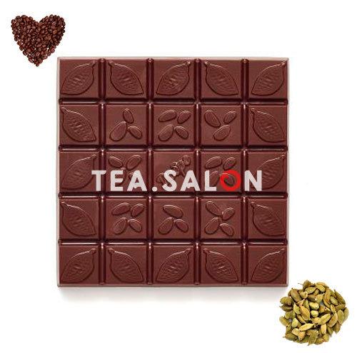 """Купить Шоколад на меду """"Молочный с кофе и кардамоном"""" в интернет-магазине Tea.salon"""