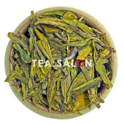 Зелёный чай «Колодец дракона c Западного озера (кит. 龍井茶) Сиху Лунцзин»