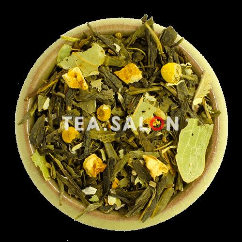 Зелёный чай с добавками «Японская липа»