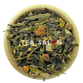 Зелёный чай «Земляника со сливками»