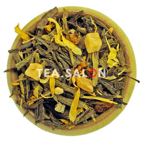 Зелёный чай с добавками «Женьшеневый рассвет»