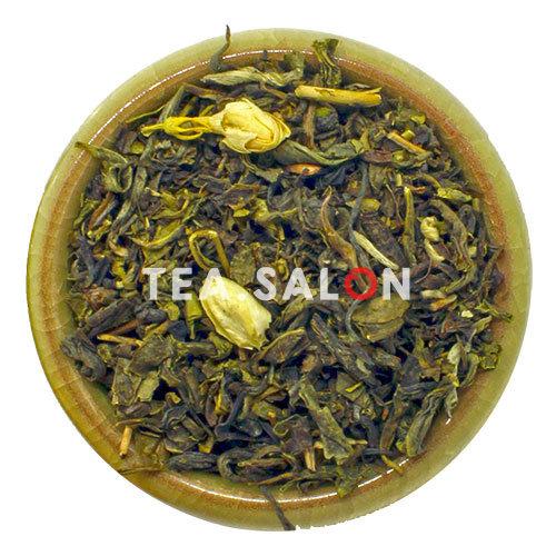 Зелёный чай с добавками «Зелёный Жасмин №1»