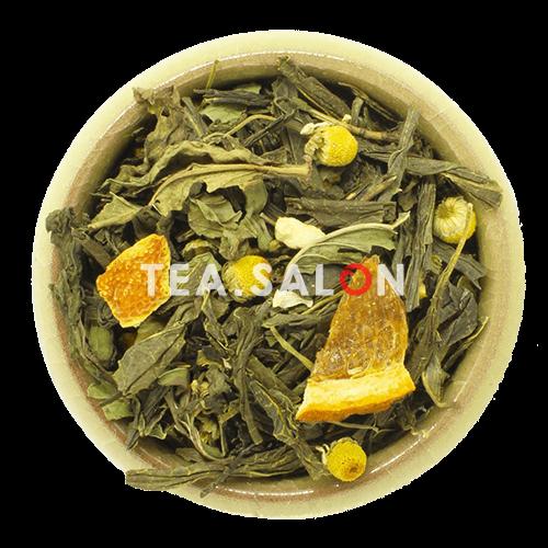 Зелёный чай с добавками «Японский лимонник»