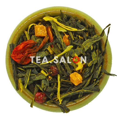 Купить Зелёный чай «Зелёный с Кактусом» в интернет-магазине Tea.salon