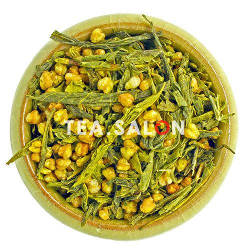 Купить Зелёный чай «Генмайча (Гэммайтя)»  в интернет-магазине Tea.salon