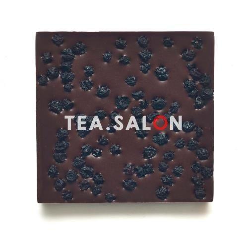 """Купить Шоколад на меду """"Молочный с дикой черникой"""" в интернет-магазине Tea.salon"""