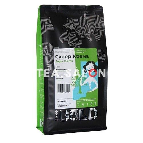 Купить Зерновой кофе Bold «Супер Крема» в интернет-магазине Tea.salon