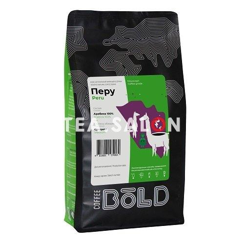 Купить Зерновой кофе Bold «Перу» в интернет-магазине Tea.salon