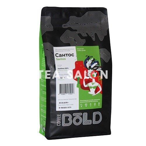 Зерновой кофе Bold «Бразилия Сантос»