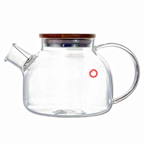 Чайник стеклянный «Гранат» объёмом 800/1000 мл