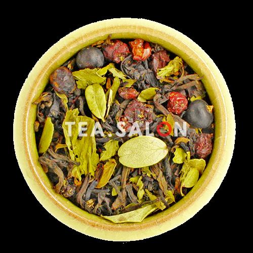 Чёрный чай с добавками «Таёжный»