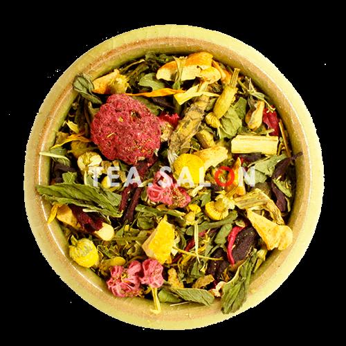 Купить Ягодно-травяной чай «Мятная малина» в интернет-магазине Tea.salon