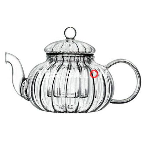 Чайник стеклянный «Волны с колбой»