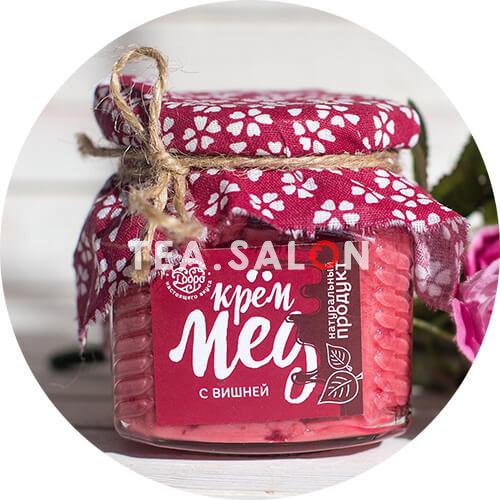 Купить Крем-мёд «С вишней» (300 г) в интернет-магазине Tea.salon