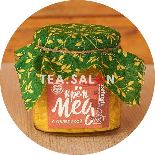Купить Крем-мёд «С облепихой» (300 г) в интернет-магазине Tea.salon