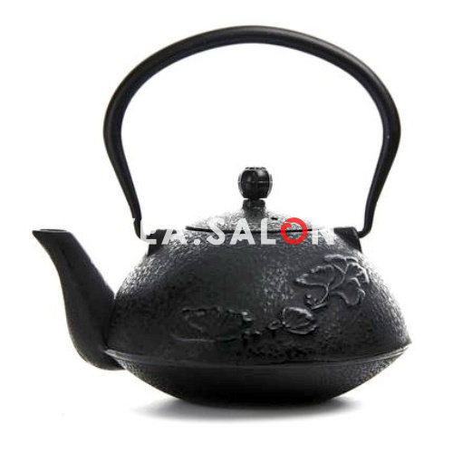 Купить Чайник чугунный «Leaf»  в интернет-магазине Tea.salon