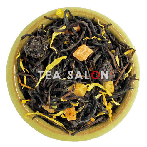 Чёрный чай с добавками «Сочный персик»