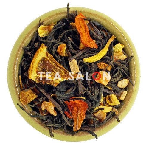 Чёрный чай с добавками «Сладкий апельсин»