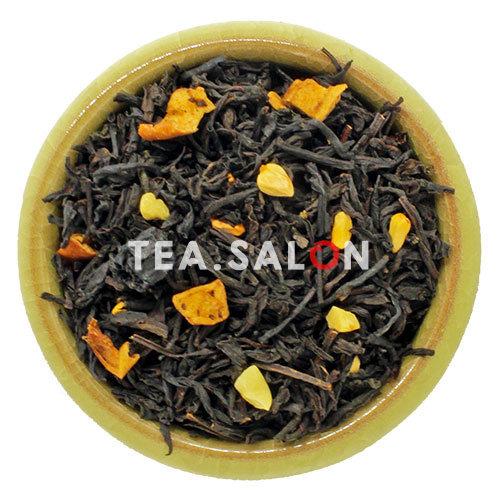 Чёрный чай с добавками «Миндальный пирог»