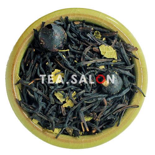 Чёрный чай с добавками «Байховый со смородиной»