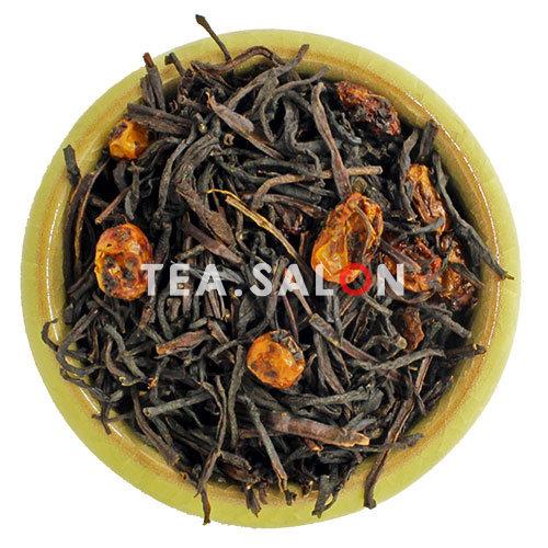 Чёрный чай с добавками «Байховый с облепихой»
