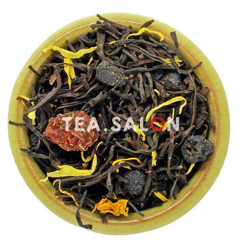 Купить Чёрный чай «Спелая вишня» в интернет-магазине Tea.salon
