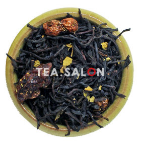 Чёрный чай «Байховый с клюквой»
