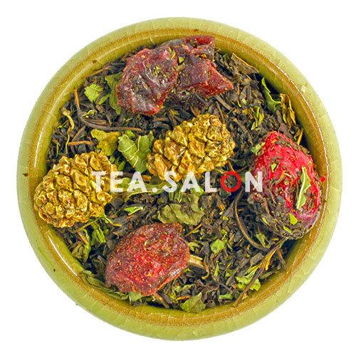 Купить Иван-чай «С клюквой и мятой» в интернет-магазине Tea.salon