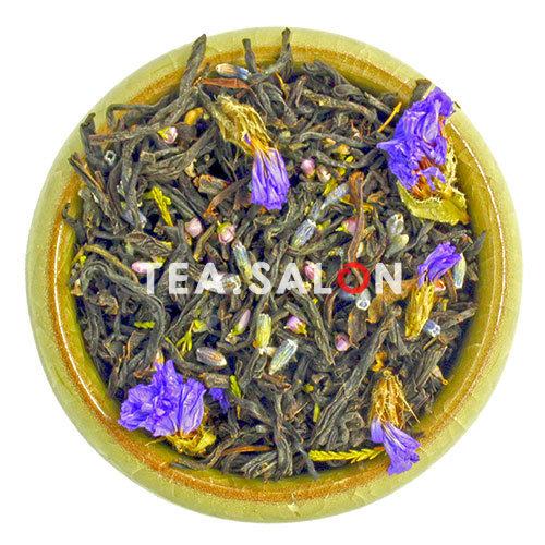 Чёрный чай с добавками «Лаванда с вереском и незабудкой»