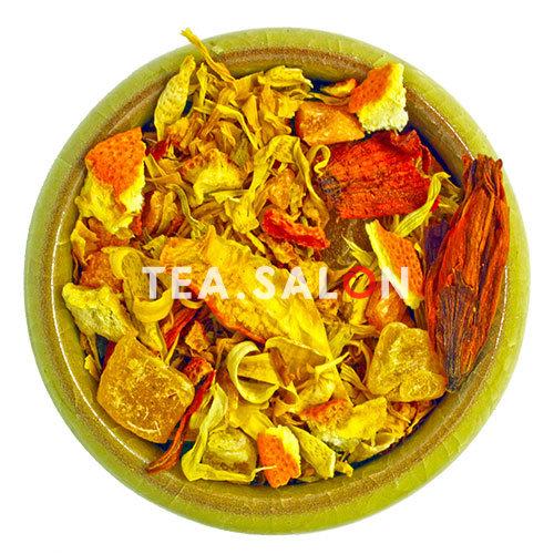 Фруктово-травяной чай «Манго с Апельсином»