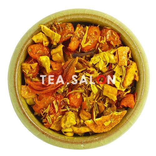 Фруктовый чай «Облепиха с апельсином, ананасом и яблоком»