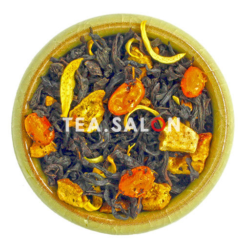 Купить Чёрный чай «Облепиха и груша» в интернет-магазине Tea.salon
