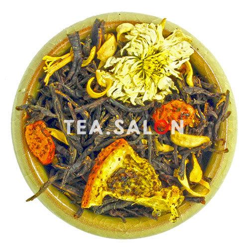 Фруктово-травяной чай «Оранжевое настроение»