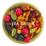 Фруктовый чай «Смородина с брусничным листом, яблоком и гибискусом»