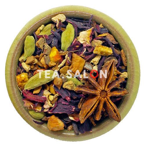 Фруктово-пряный чай «Глинтвейн»