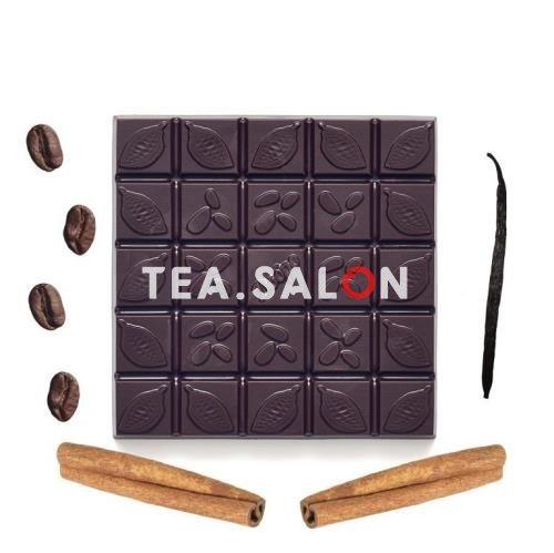 """Купить Шоколад на меду """"Горький с кофе, ванилью и корицей""""   в интернет-магазине Tea.salon"""